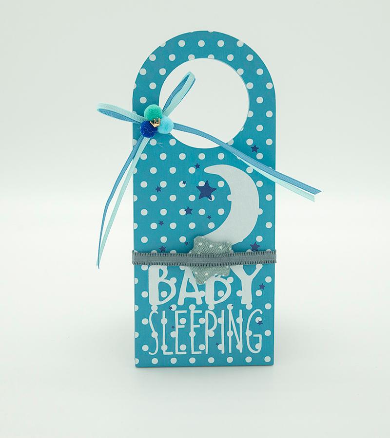 BABY Door Hanger Blue1