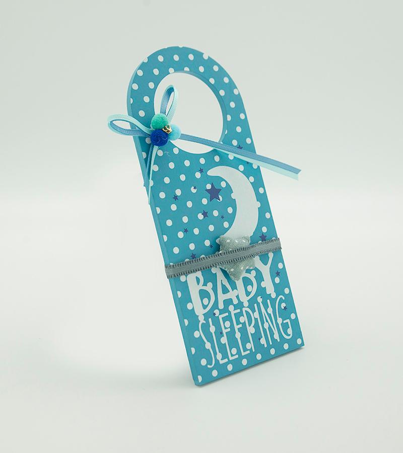 BABY Door Hanger Blue2