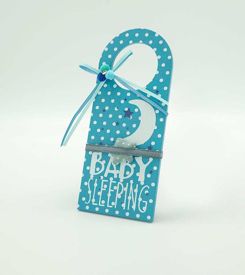 BABY Door Hanger Blue3