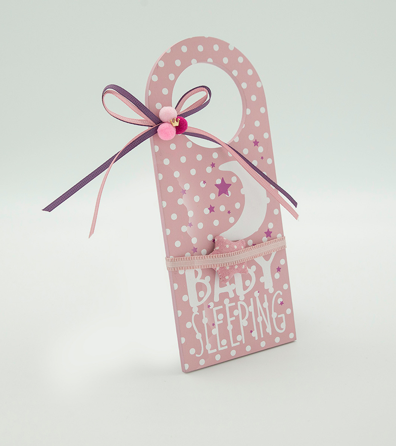 BABY Door Hanger Pink3